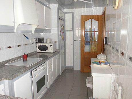 piso de 90 metros en venta en Santa rosa - cocina