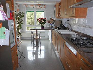 piso en santa rosa con preciosas vistas - cocina