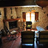 Bonita casa rural en venta en Bocairente - Salón