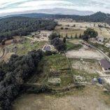 Bonita casa rural en venta en Bocairente - Terreno de la casa rural