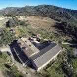 Bonita casa rural en venta en Bocairente - Vistas aéreas