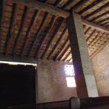 Masía Rústica en venta Mariola - techo de la masía