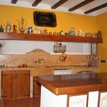 Casa de recreo en Muro de Alcoy-cocina