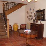 Casa de recreo en Muro de Alcoy-escaleras