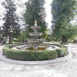 Casa de recreo en Muro de Alcoy-fuente jardin