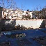 Masía con coto de caza en Alcoy-Bañeres-piscina