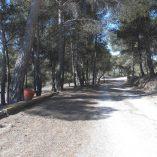 Masía con terreno en Onil-camino