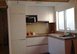 Piso minimalista en Ensanche-cocina
